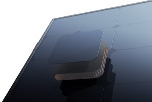 All black panel - no wires