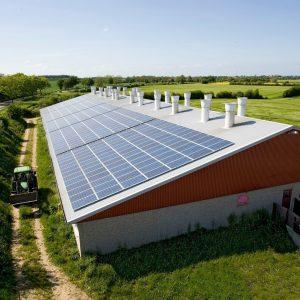 Farm solar installation