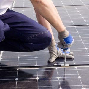 Solar domestic install