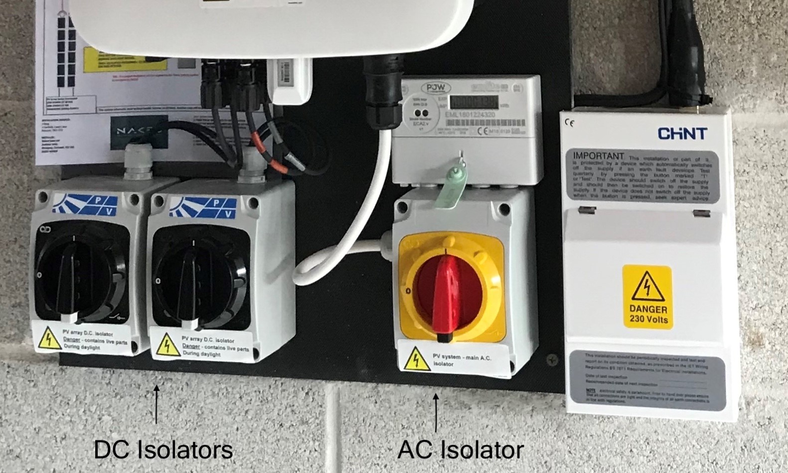 dc-ac-isolators-for-solar-pv-panel-system
