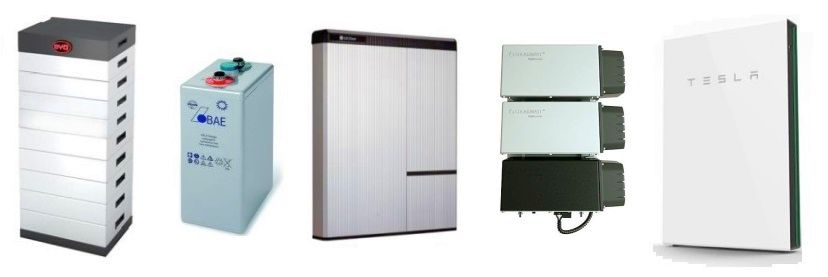 selection of battery storage