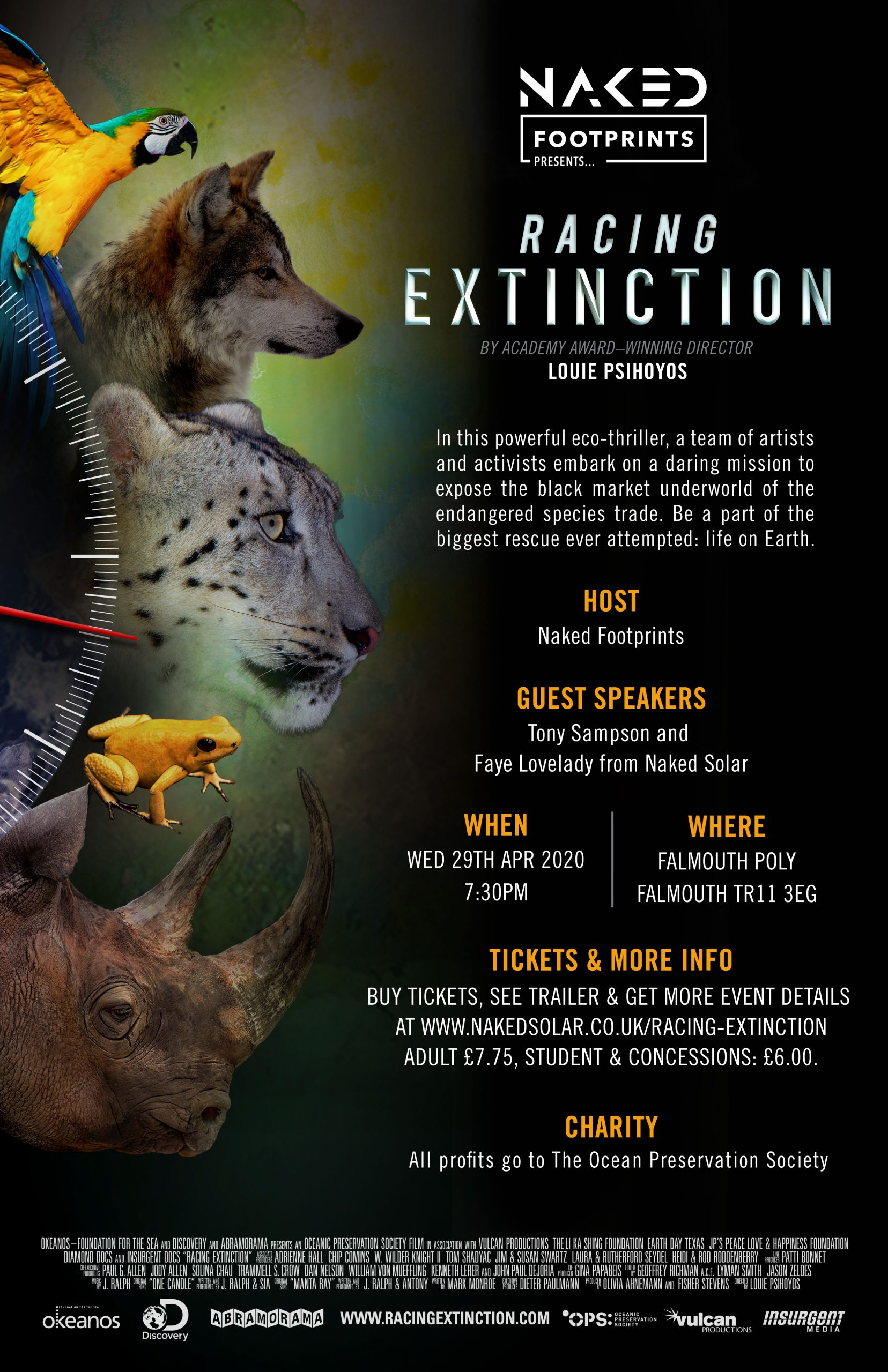 Racing Extinction - Presented by Naked Footprints