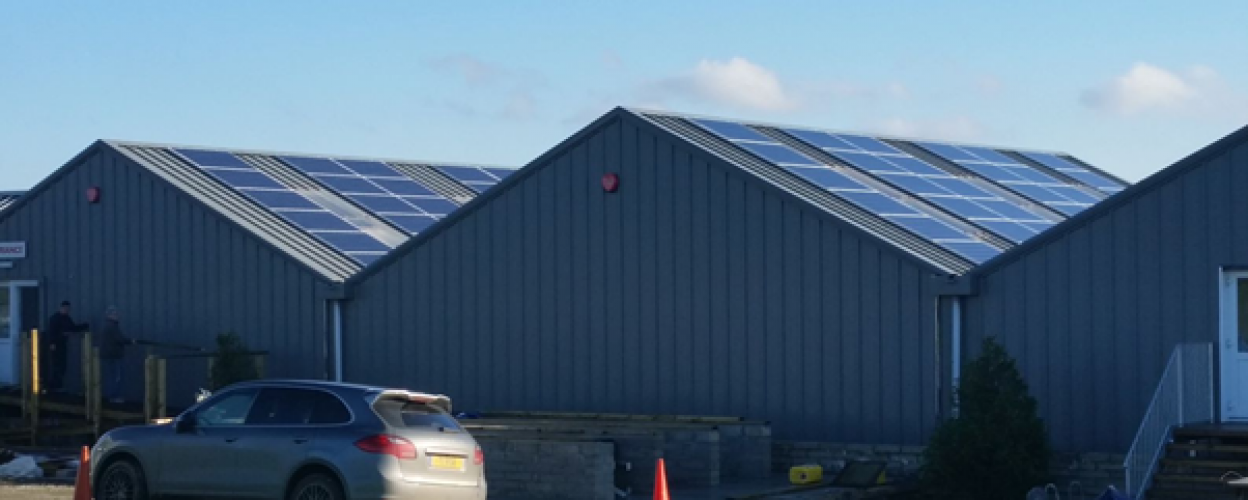 Hawksfield solar panels